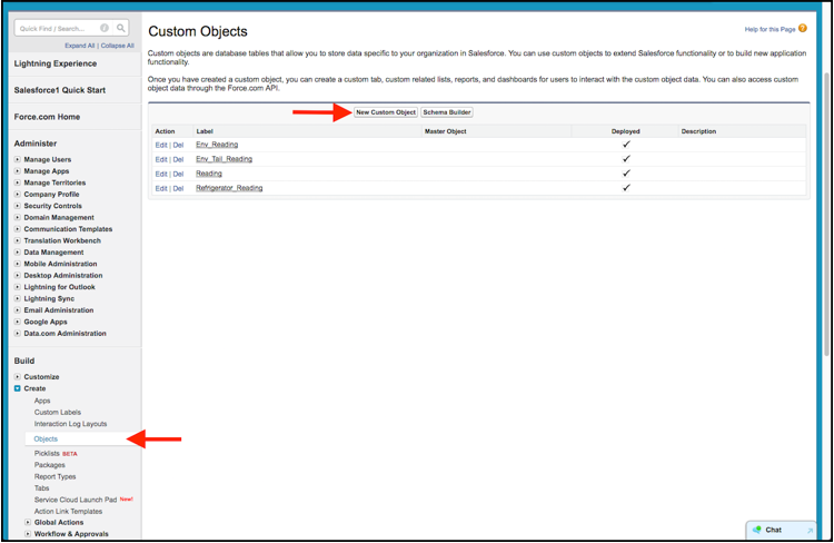 Salesforce Custom Object