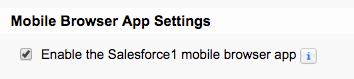 App settings checkbox