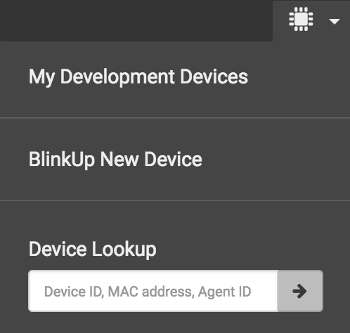 Devices Menu