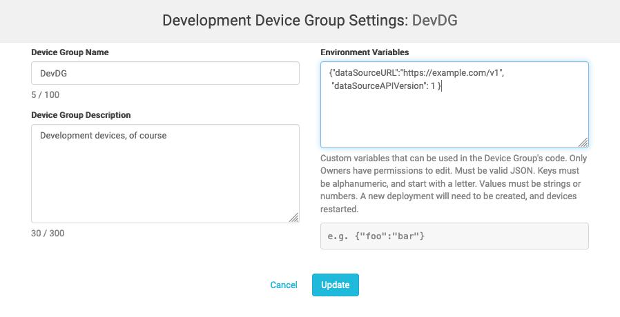 impCentral User Guide | Dev Center
