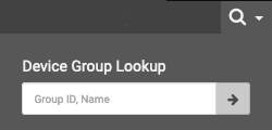 Device Group Menu