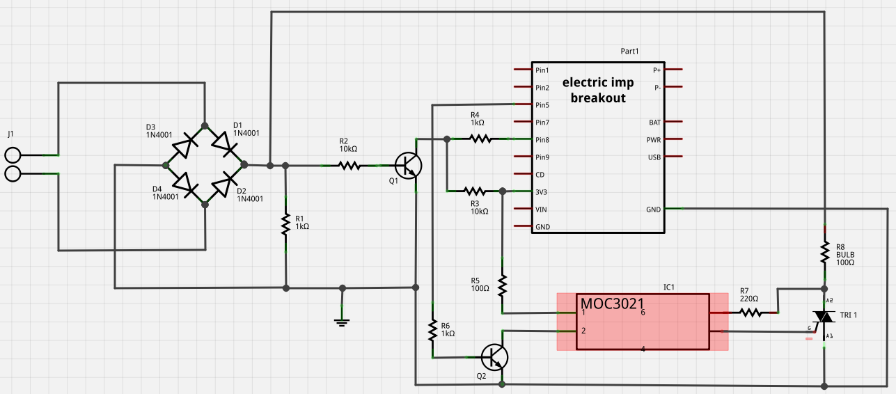 Bulb demo complete circuit
