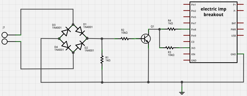 Zero-crossing detector circuit